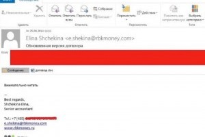 Anunak Spearphishing Email 300×227