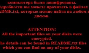 Russian Crypto Malware Encrypts Files Completely